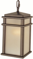 Feiss OL3411-CB Mission Lodge 1-light 13.5 inch Outdoor Hanging Light in Corinthian Bronze