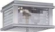 Feiss OL3413-BRAL Monterrey Coast 2-light 5.5 inch Outdoor Ceiling Light in Brushed Aluminum
