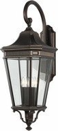Feiss OL5405GBZ Cotswold Lane Grecian Bronze Outdoor Wall Sconce