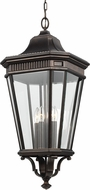 Feiss OL5414GBZ Cotswold Lane Grecian Bronze Exterior Pendant Lighting