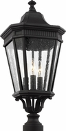 Feiss OL5427BK Cotswold Lane Traditional Black Exterior Post Lamp