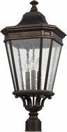 Feiss OL5428GBZ Cotswold Lane Grecian Bronze Outdoor Post Lamp