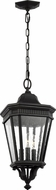 Feiss OL5431BK Cotswold Lane Traditional Black Exterior Pendant Lamp