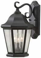 Feiss OL5902-BK Martinsville Outdoor Large 17 Inch Tall Black Lantern Wall Sconce
