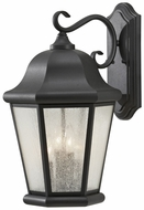 Feiss OL5904-BK Martinsville Extra Large Black 20 Inch Tall Exterior Lantern Wall Sconce