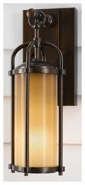 Feiss OL7600 Dakota Petite Rustic Outdoor Wall Sconce
