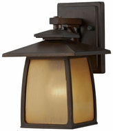 Feiss OL8500-SBR Wright House 10 Inch Tall Small Outdoor Wall Light - Sorrel Brown