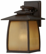 Feiss OL8501-SBR Wright House Sorrel Brown Medium 12 Inch Tall Exterior Wall Lamp