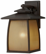Feiss OL8502-SBR Wright House Large 13 Inch Tall Transitional Lantern Wall Sconce - Outdoor