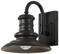 Feiss OL8600-RSZ Redding Station Small Bronze 9 Inch Diameter Outdoor Wall Lighting