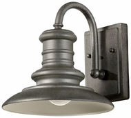 Feiss OL8600-TRD Redding Station 9 Inch Diameter Small Exterior Wall Sconce - Tarnished Finish