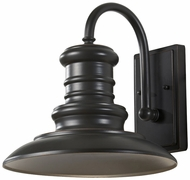 Feiss OL8601-RSZ Redding Station Restoration Bronze 12 Inch Diameter Large Outdoor Wall Lamp