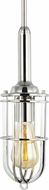 Feiss P1240PN Urban Renewal Contemporary Polished Nickel Mini Pendant Hanging Light