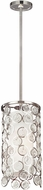 Feiss P1429PN Lexi Contemporary Polished Nickel Mini Hanging Lamp