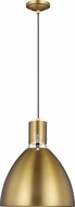 Feiss P1442BBS-L1 Brynne Contemporary Burnished Brass LED 14  Ceiling Light Pendant