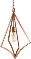 Feiss P1450CPR Nico Modern Copper Entryway Light Fixture