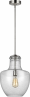 Feiss P1461SN Baylor Modern Satin Nickel Mini Hanging Pendant Lighting