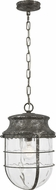 Feiss P1500DSL Parson Distressed Silver Leaf Mini Drop Lighting