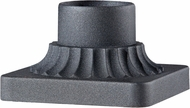 Feiss PIER MT-BK Black Outdoor Post Mount