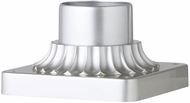 Feiss PIERMOUNT-PBS Painted Brushed Steel Exterior Post Mount