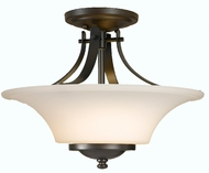Feiss SF241 Barrington 2 Light 15 inch Semi Flush Ceiling Fixture