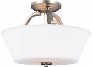 Feiss SF325SN Hamlet Satin Nickel Overhead Lighting