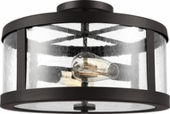 Feiss SF341ORB Harrow Contemporary Oil Rubbed Bronze 15 Ceiling Light