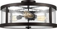 Feiss SF342ORB Harrow Contemporary Oil Rubbed Bronze 19.5  Ceiling Lighting Fixture