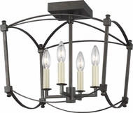 Feiss SF350SMS Thayer Smith Steel Home Ceiling Lighting
