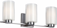 Feiss VS22603SN Bergin Satin Nickel 3-Light Vanity Light