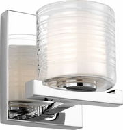 Feiss VS24201CH Volo Contemporary Chrome Lighting Wall Sconce
