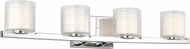 Feiss VS24204CH Volo Modern Chrome 4-Light Bath Lighting
