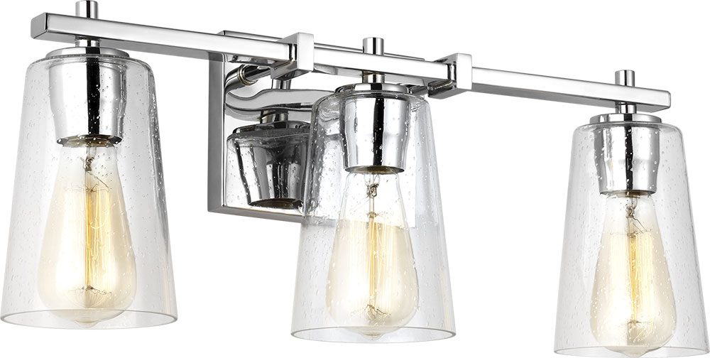 Feiss VS24303CH Mercer Contemporary Chrome 3-Light