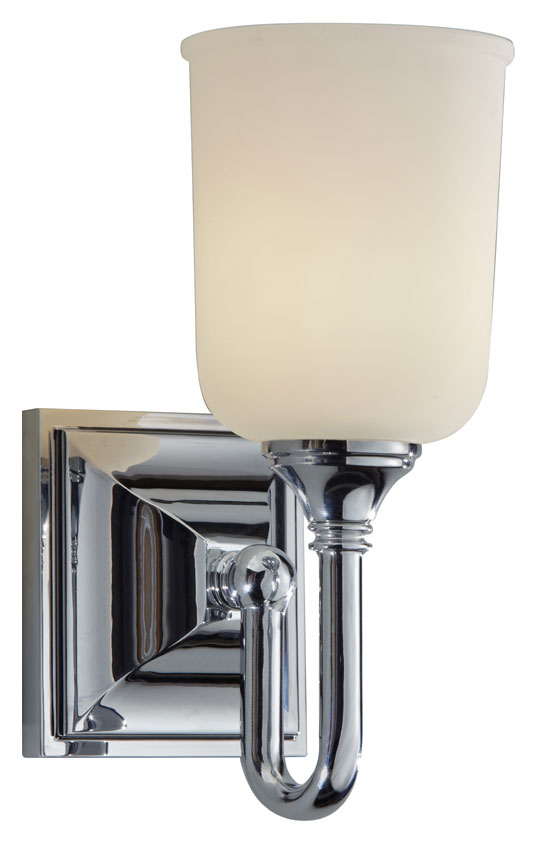 lowest price 3a03e 63601 Feiss VS27001-CH Harvard Chrome Finish 10 Inch Tall Transitional Wall  Sconce Lighting
