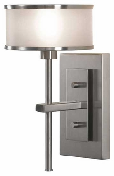 Feiss WB1378BS Casual Luxury Wall Sconce in Brushed Steel