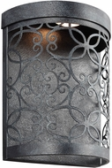 Feiss WB1814DWZ-LED Arramore Contemporary Dark Weathered Zinc LED Exterior Lamp Sconce