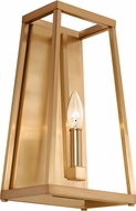 Feiss WB1827GSB Conant Contemporary Gilded Satin Brass Light Sconce