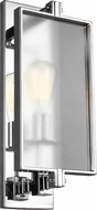 Feiss WB1843CH Dailey Contemporary Chrome Wall Sconce Lighting
