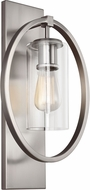 Feiss WB1846CH Marlena Contemporary Chrome Wall Light Sconce