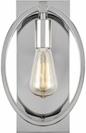 Feiss WB1847CH Marlena Contemporary Chrome Wall Lighting Fixture