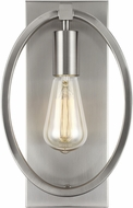 Feiss WB1847SN Marlena Modern Satin Nickel Wall Light Sconce