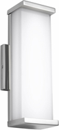 Feiss WB1862PST-LED Altron Contemporary Polished Stainless Steel LED Indoor / Outdoor Lamp Sconce