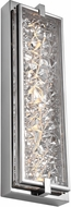 Feiss WB1866PST-LED Erin Contemporary Polished Stainless Steel LED Wall Mounted Lamp