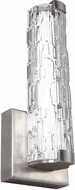 Feiss WB1871SN-LED Cutler Contemporary Satin Nickel LED Sconce Lighting