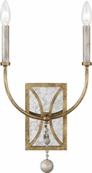 Feiss WB1920ADB Marielle Antique Gild Wall Lamp