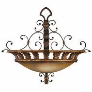 Fine Art Lamps 219742 Castile Traditional Antiqued Iron Hanging Light