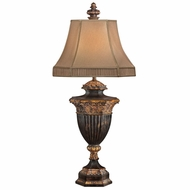 Fine Art Lamps 230710 Castile Traditional Gold Leaf Table Lamp Lighting