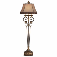 Fine Art Lamps 230920 Castile Traditional Antique Iron and Gold Leaf Floor Lighting