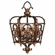 Fine Art Lamps 242749 Castile Traditional Gold Leaf Foyer Lighting