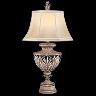 Fine Art 301810 Winter Palace Antiqued Silver Finish 37 Inch Tall Traditional Table Lamp